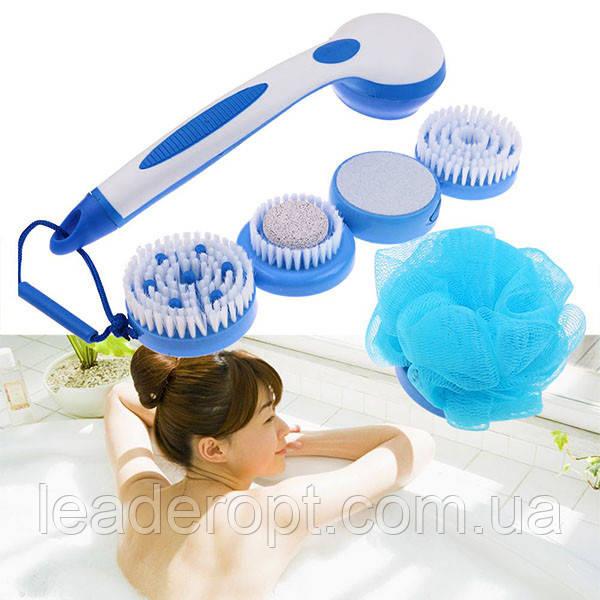 [ОПТ] Многофункциональная массажная электрощетка для тела Spin Spa Brush