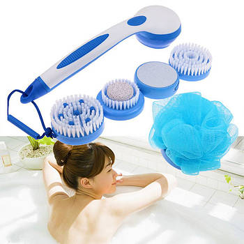 [ОПТ] Багатофункціональна масажна електрощітки для тіла Spin Spa Brush