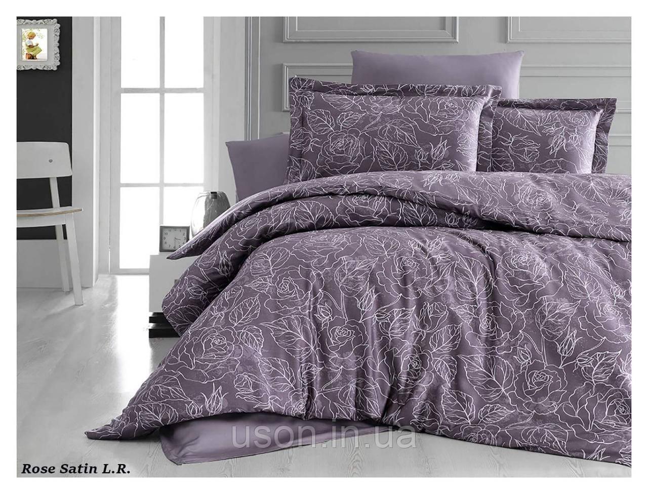 Комплект постельного белья из сатина Тм LaRomano  Rose