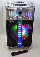 Колонка акумуляторная с микрофоном Rockysonic   GT12 / 300W (USB/FM/Bluetooth)