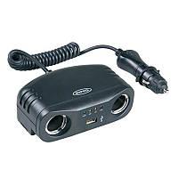 Розгалужувач автомобільного прикурювача Ring RMS7 з USB