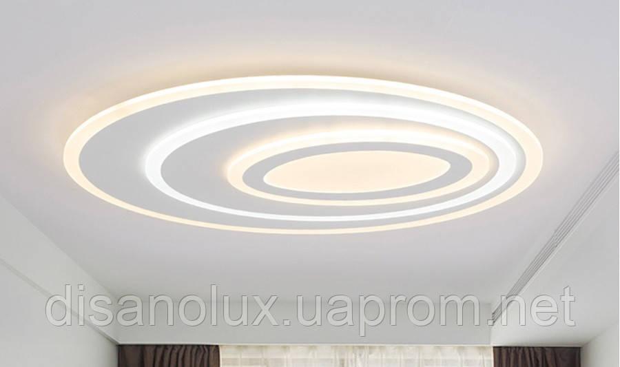 Светильник светодиодный A4855-500 2*68вт Белый L500мм пульт димер 3000К-600К