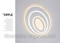 Светильник светодиодный A4855-500 2*68вт Белый L500мм пульт димер 3000К-600К, фото 4