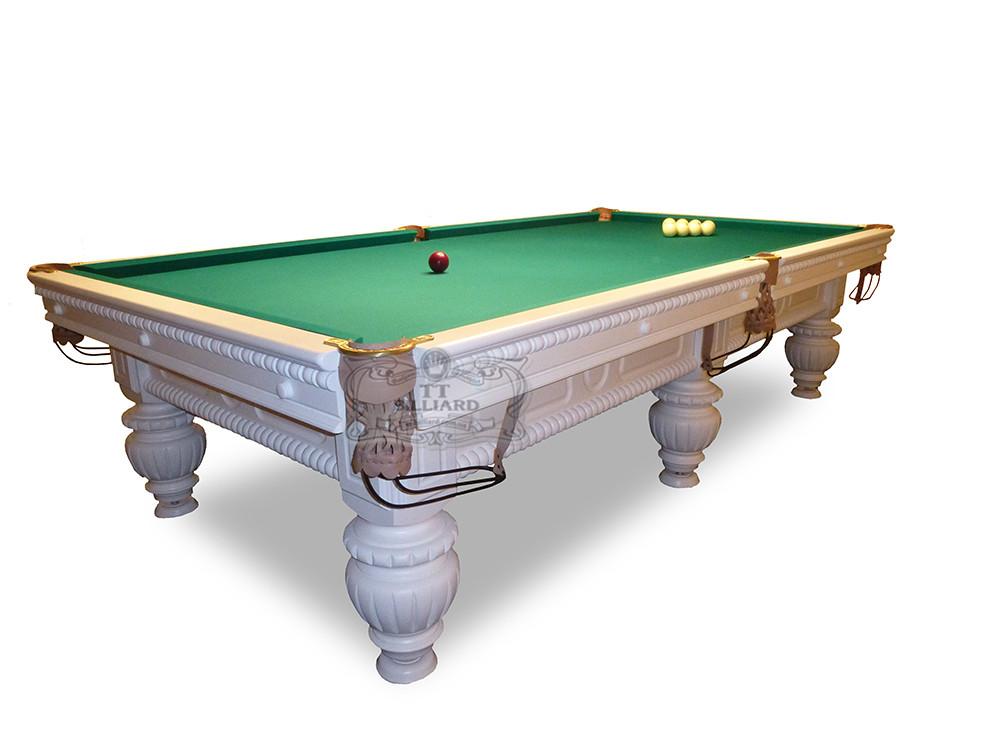 Більярдний стіл для піраміди КОРОЛЬ АРТУР 12ф ардезія 3.6 м х 1.8 м