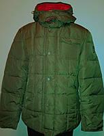 Куртка-Пуховик чоловіча темно-оливкова L «Zuelements» (Італія)