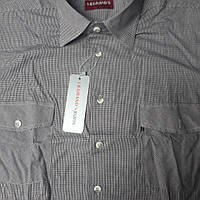 Мужская коттоновая рубашка LEGRAND 100% хлопок (размер 41)