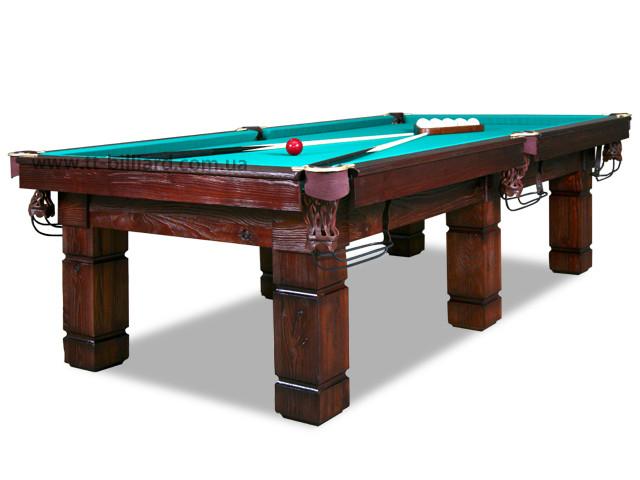 Бильярдный стол для пула АСКОЛЬД 12ф ардезия 3.6м х 1.8м