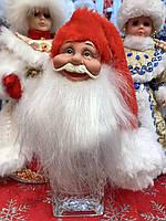 Дед Мороз на бутылку фигурка-крышка, фото 1