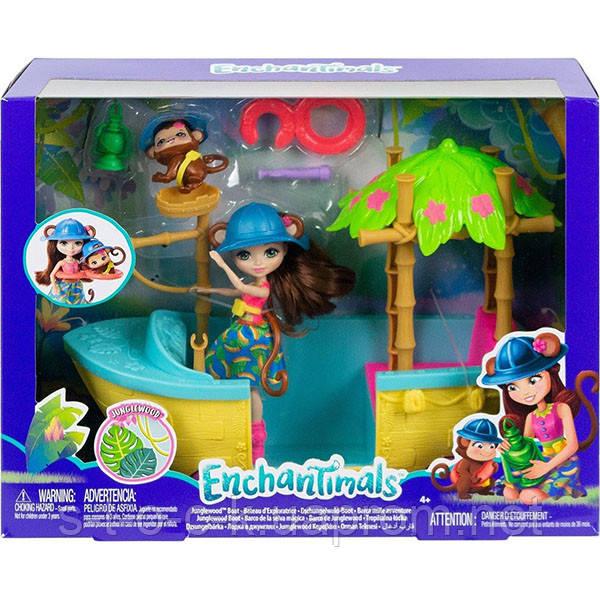 """Enchantimals GFN58 """"Джунгли-лодка"""" Производитель:Mattel (США)"""