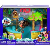 """Enchantimals GFN58 """"Джунгли-лодка"""" Производитель:Mattel (США), фото 1"""