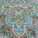 Соловушка 1893-9, павлопосадский платок шерстяной  с шелковой бахромой, фото 3