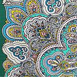 Соловушка 1893-9, павлопосадский платок шерстяной  с шелковой бахромой, фото 6
