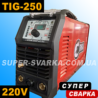 Спика GTAW TIG-250pAC DC PFC аргоновая сварка