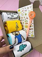 Подарочный Бокс City-A Box #09 для Мужчин и Женщин с Носками Набор Sox из 6 ед.