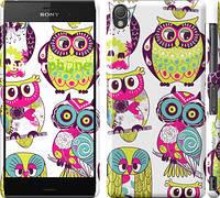 "Чехол на Sony Xperia Z3 D6603 Совы ""1805c-58"""