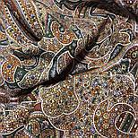 День рождения 789-1, павлопосадский платок шерстяной  с оверлоком, фото 5