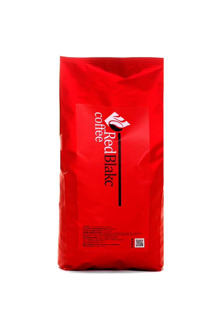 Кофе Топленое молоко RedBlakcCoffee в зернах 1000 г 10