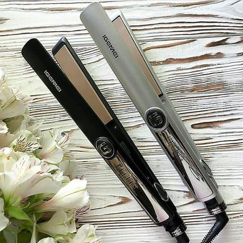 Утюжок для випрямлення волосся професійний Gemei GM-416 з терморегулятором і LED дисплеєм ОПТ
