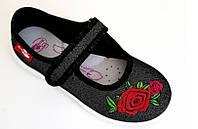 Тапочки для девочек renbut  34 (22 см) с кожаными стельками, фото 1