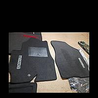 Ворсовые коврики передние Mazda Tribute (Серые)