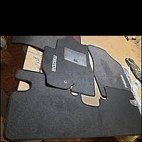Ворсовые коврики Mazda Tribute (Черные)