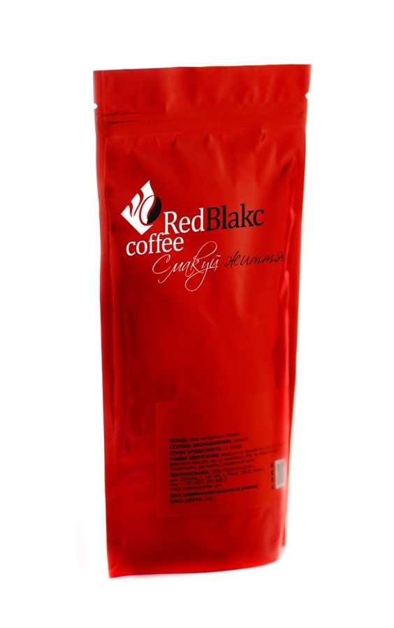 Кофе Вишня с коньяком RedBlakcCoffee, молотый 250 г 10