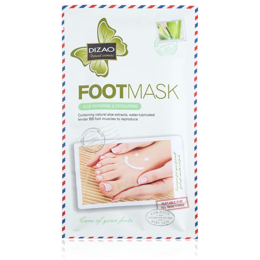CMD-50 Маска-носки для ног с экстрактом алоэ (отшелушивающая, восстанавливающая) 35 g