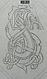 Щит дракон (64 см) ручная работа Материал щита - ольха, фото 6