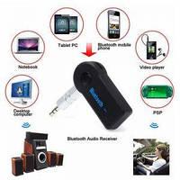 Автомобильный Bluetooth через AUX адаптер аудиоприемник A2DP
