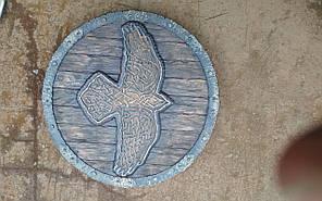 Щит птица   (64 см) ручная работа Материал щита - ольха