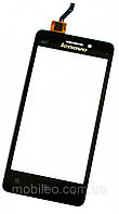 Сенсорный экран (тачскрин) Lenovo A360T чёрный ориг. к-во