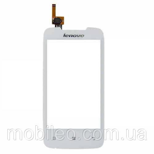 Сенсорный экран (тачскрин) Lenovo A390 white ориг. к-во