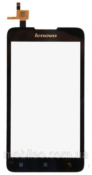 Сенсорный экран (тачскрин) Lenovo A529 чёрный ориг. к-во