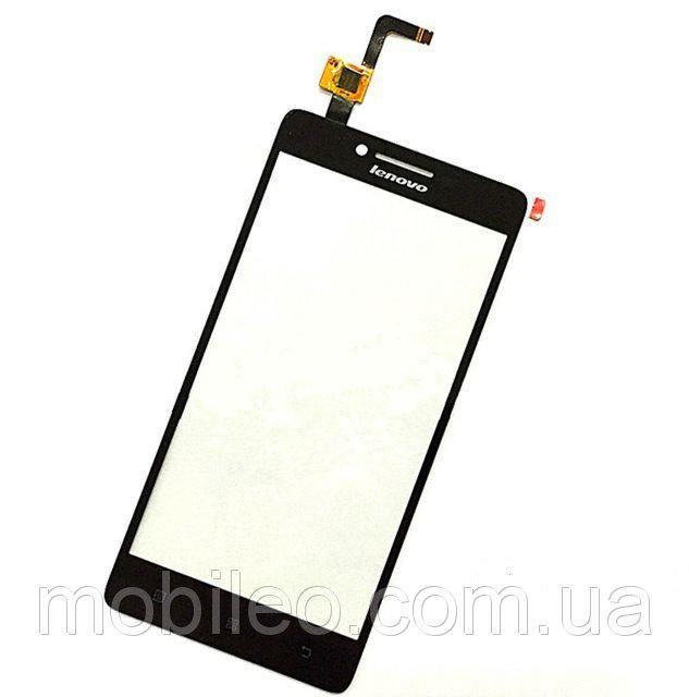 Сенсорный экран (тачскрин) Lenovo A6000 K3 чёрный ориг. к-во