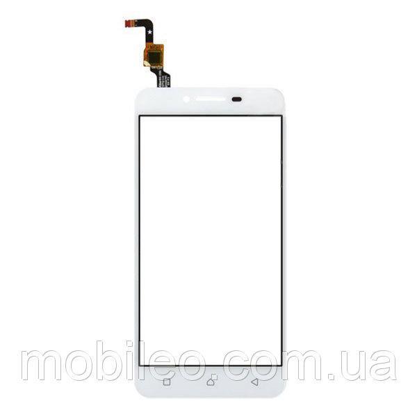 Сенсорный экран (тачскрин) Lenovo A6020a40 Vibe K5 white