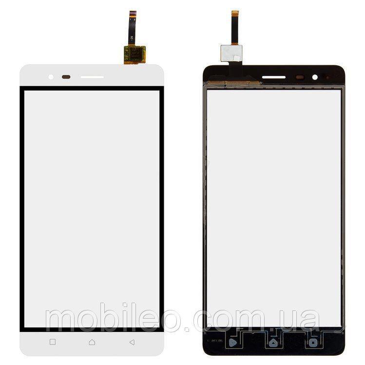 Сенсорный экран (тачскрин) Lenovo A7020 Vibe K5 Note white