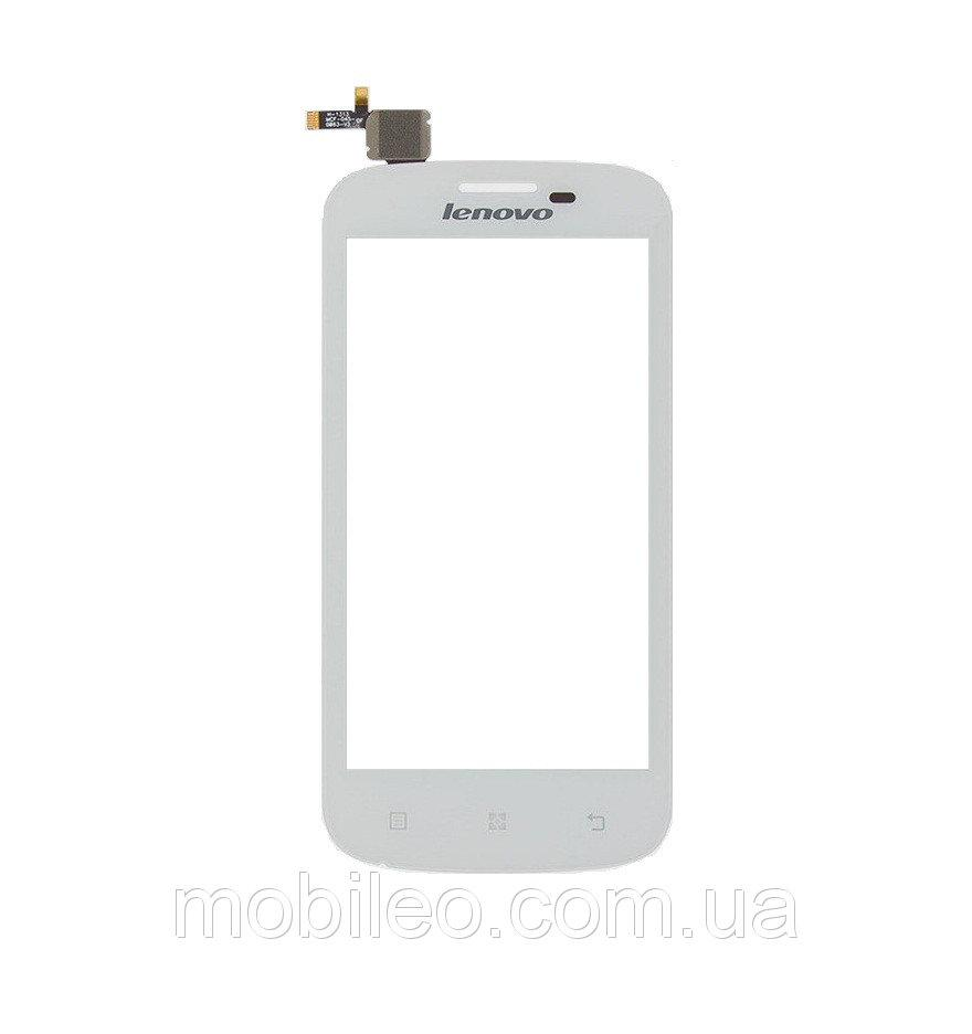 Сенсорный экран (тачскрин) Lenovo A706 white ориг. к-во