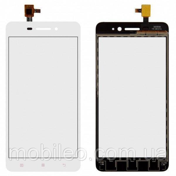 Сенсорный экран (тачскрин) Lenovo S60 | S60a | S60w, белый, ориг. к-во