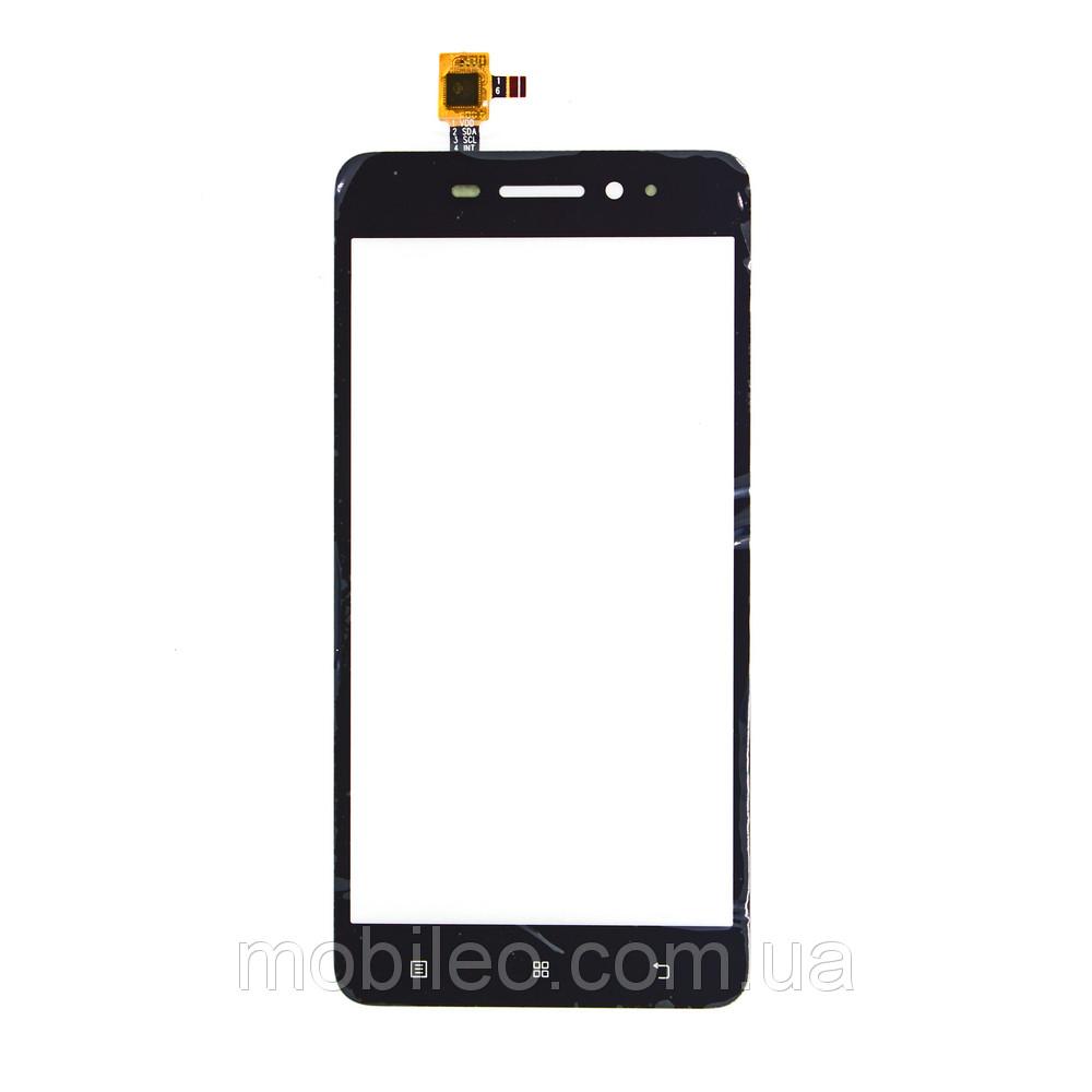Сенсорный экран (тачскрин) Lenovo S60 | S60a | S60w, чёрный, ориг. к-во