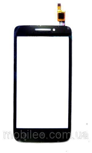Сенсорный экран (тачскрин) Lenovo S650 чёрный ориг. к-во