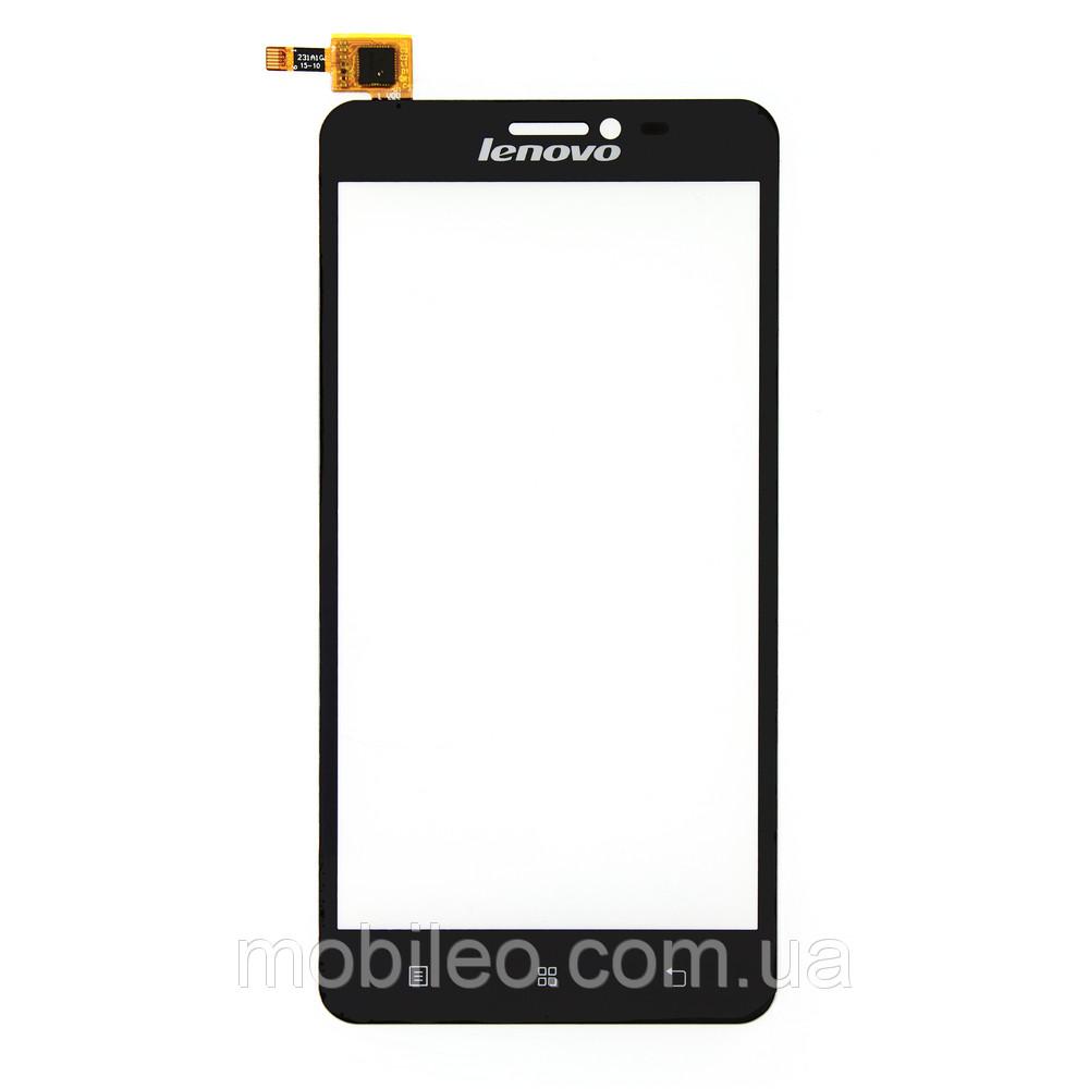 Сенсорный экран (тачскрин) Lenovo S850 S850t чёрный ориг. к-во