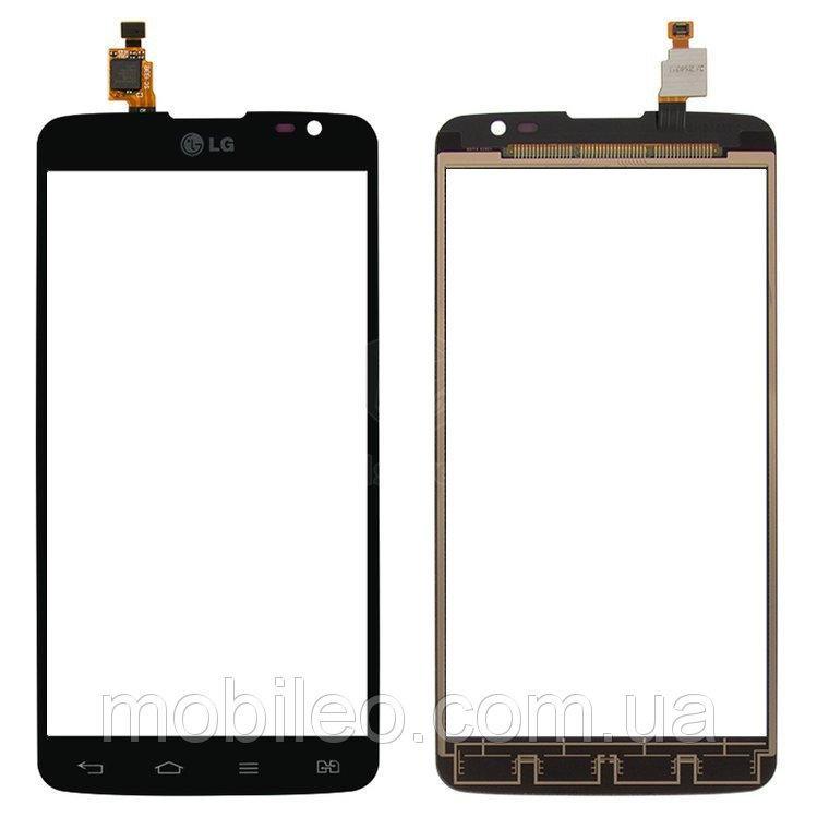 Сенсорный экран (тачскрин) LG D686 G Pro Lite Dual D685 чёрный ориг. к-во