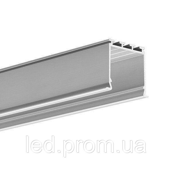LED-профиль LOKOM черный под шпаклевку