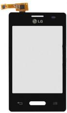 Сенсорный экран (тачскрин) LG E425 Optimus L3 II black