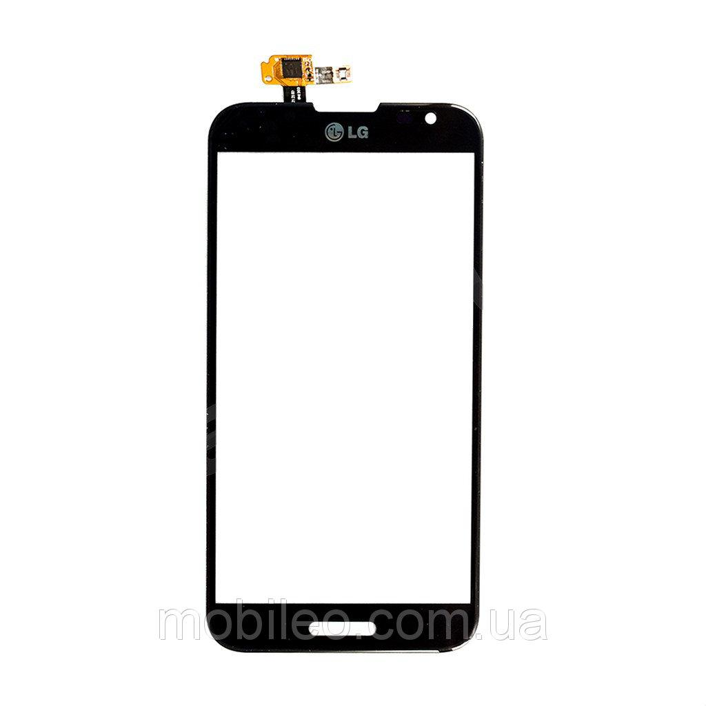 Сенсорный экран (тачскрин) LG E980 Optimus G Pro E988 E986 чёрный ориг. к-во