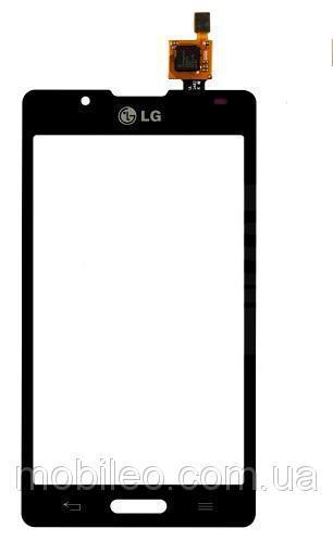 Сенсорный экран (тачскрин) LG P713 Optimus L7 II P710 чёрный