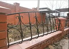 Оградки и заборные секции