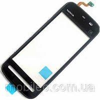 Сенсорный экран (тачскрин) Nokia 5230 5228 5233 5235 чёрный high copy