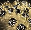 Светодиодная гирлянда с насадкой «Золотой Шарик» на 20 светодиодов, фото 4