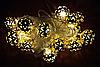Светодиодная гирлянда с насадкой «Золотой Шарик» на 20 светодиодов, фото 6